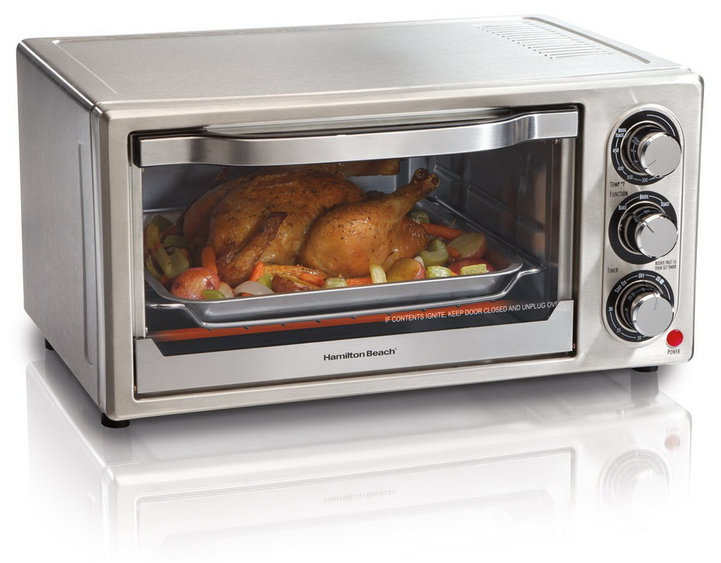 Countertop Oven Uses : Hamilton Beach 31511 Stainless Steel 6 Slice Toaster Oven - Home
